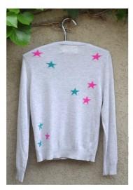 Cardigan with stars