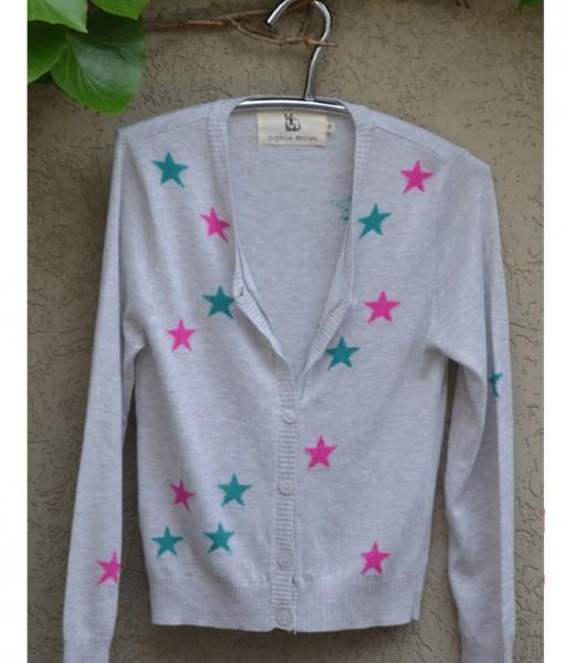 Grey Marle Stars Cardigan